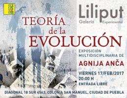 Teoría de la Evolución, exposición multidisciplinaria, 2017